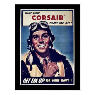 That New Corsair Thats For Me! Post Card