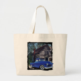 That Old Truck Large Tote Bag