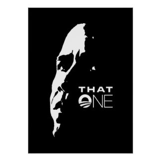 That One - Barack Obama POSTER