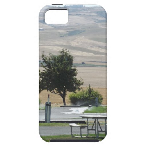 That Pendleton Hill from the Campground iPhone 5 Cover