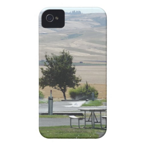That Pendleton Hill from the Campground iPhone 4 Case