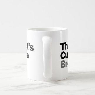 That's Cute Bro Coffee Mugs