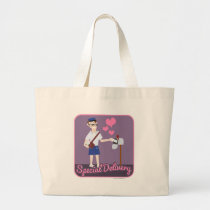 That Special Delivery Large Tote Bag