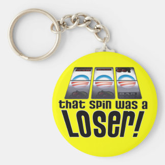 That Spin Was A Loser! Keychain