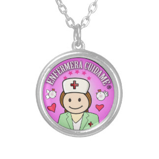 That to give a nurse Take care of to me Round Pendant Necklace