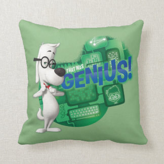 That Was Genius Cushion