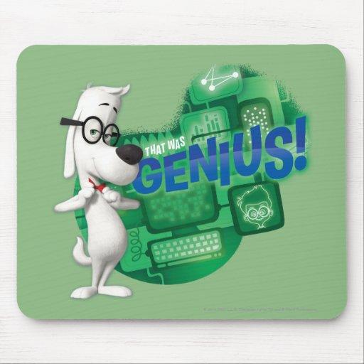That Was Genius Mousepad
