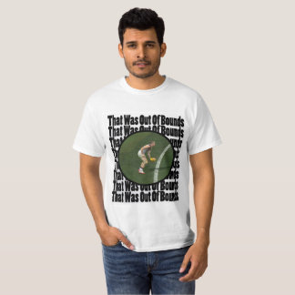 That Was Out Of Bounds - AFL Brian Taylor T-Shirt