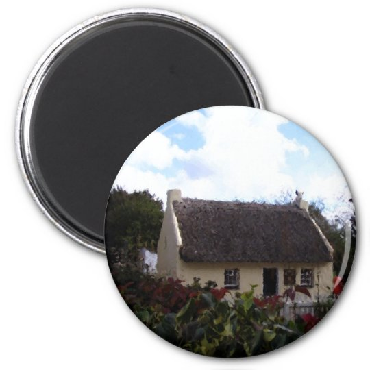 Thatch Cottage Magnet