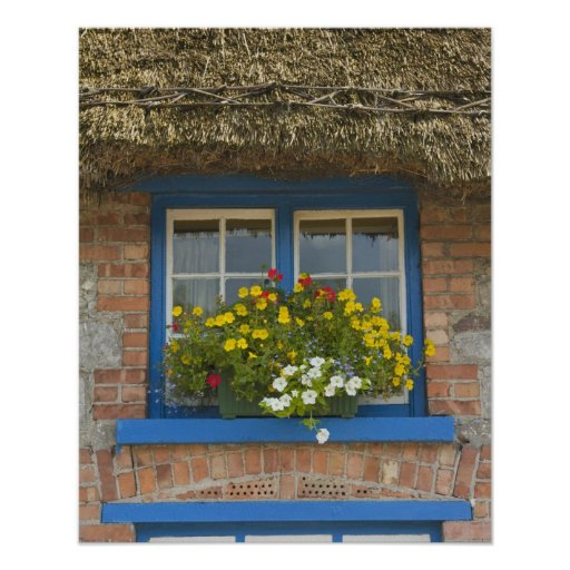 Thatched cottage, Adare, County Limerick, Posters