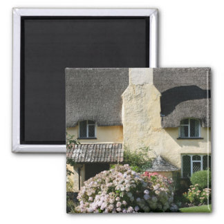 Thatched Cottage Selworthy Exmoor Somerset UK Refrigerator Magnet