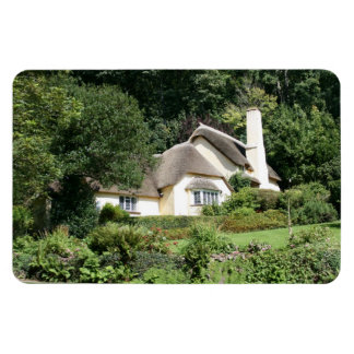 Thatched Cottage Selworthy Exmoor Somerset UK Rectangular Magnet