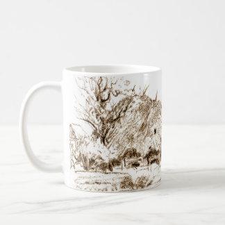 Thatched Hut 1835 Basic White Mug