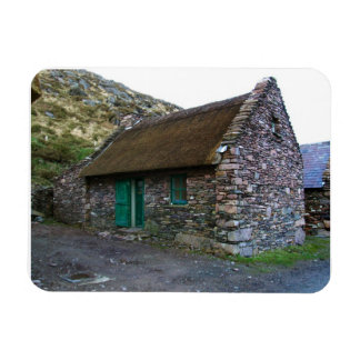 Thatched Irish Stone Cottage Flexi Magnet