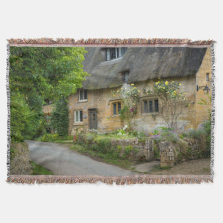 Thatched Roof home Throw Blanket
