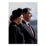 Thatcher & Reagan Posters