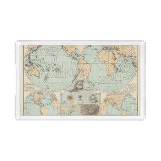 Thatigkeit des Erdinnern Atlas Map