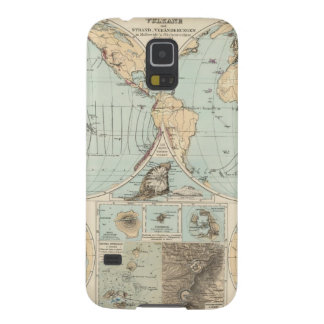 Thatigkeit des Erdinnern Atlas Map Galaxy S5 Cover
