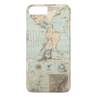 Thatigkeit des Erdinnern Atlas Map iPhone 8 Plus/7 Plus Case
