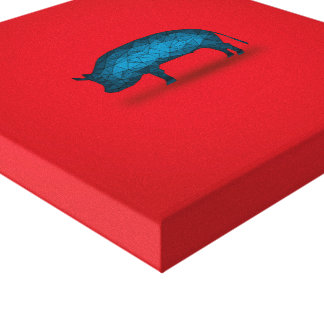 That'll do Pig... Stretched Canvas Prints
