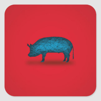 That'll do Pig... Square Sticker