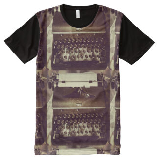 THAT'S A TYPE WRITER...RETRO men's t-shirt All-Over Print T-Shirt