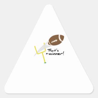 Thats a Winner Triangle Sticker