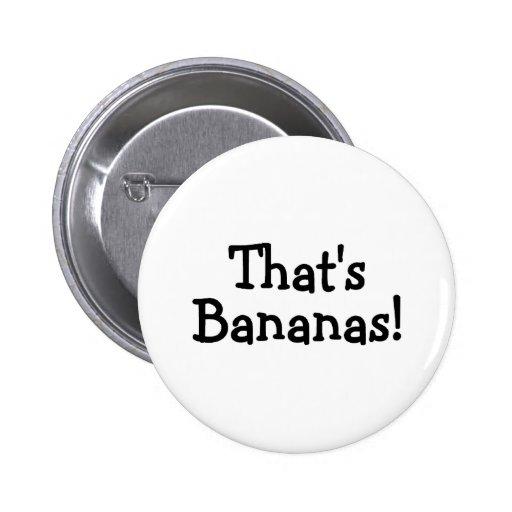 Thats Bananas Button