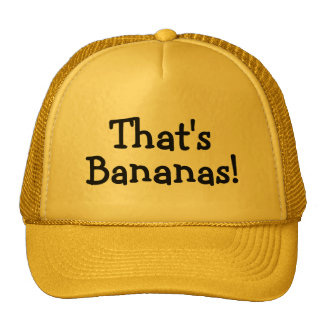 Thats Bananas Cap