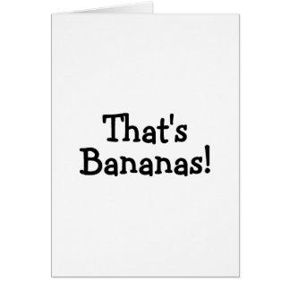 Thats Bananas Greeting Cards