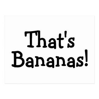 Thats Bananas Post Cards