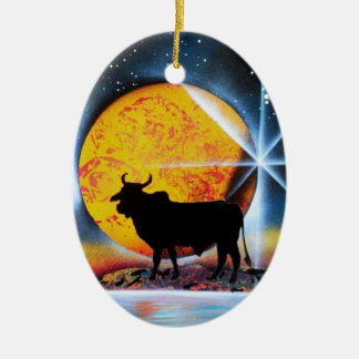 That's Bull Christmas Ornament