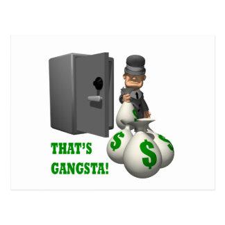 Thats Gangsta Postcard