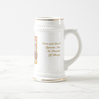 That's Gonna Leave A Stain Double Template Stien Beer Stein