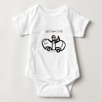 That's How I Roll! Baby Bodysuit