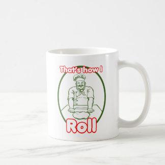 That's How I roll Basic White Mug