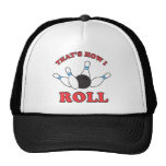 Thats how I roll bowling pins and ball Mesh Hat