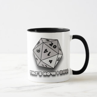 That's How I Roll d20 Mug