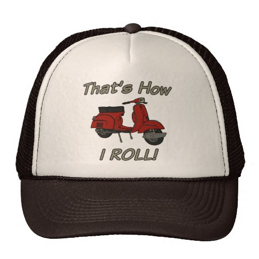 That's How I Roll Moped Cap