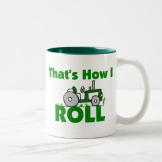 That's How I Roll Two-Tone Coffee Mug