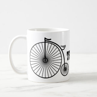 Thats How I Roll Penny Farthing Coffee Mug