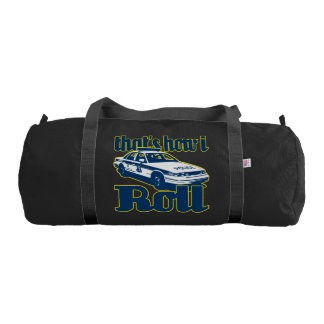 Thats How I Roll Police Gym Duffel Bag