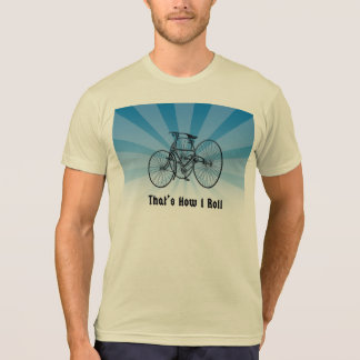 That's How I Roll Vintage Tricycle T Shirt Blue