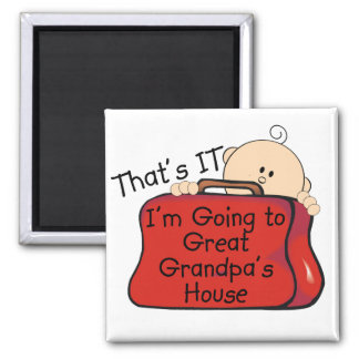 That's it Great Grandpa Square Magnet