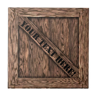 That's just Crate! - Oak Wood - Small Square Tile