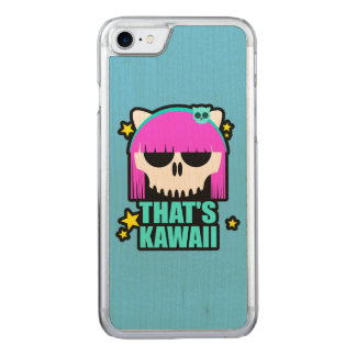 That's Kawaii Carved iPhone 8/7 Case