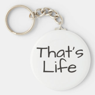 That's Life Key Ring