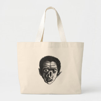 That's One Ugly Goblin Large Tote Bag