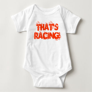 That's Racing! Baby Bodysuit