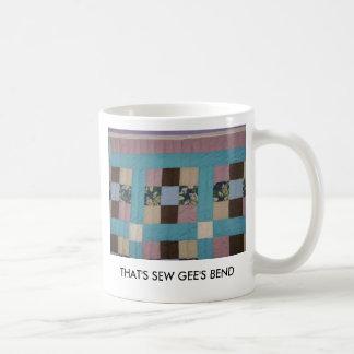 THAT'S SEW GEE'S BEND BASIC WHITE MUG